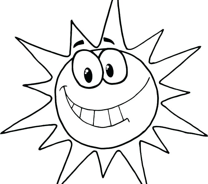 Sun Coloring Pages For Preschoolers at GetColorings.com