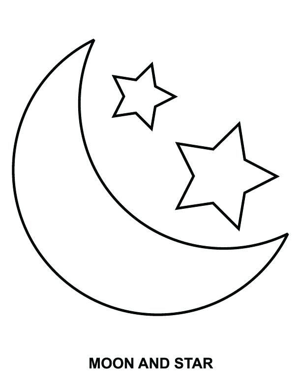 Sun Moon And Stars Coloring Page at GetColorings.com