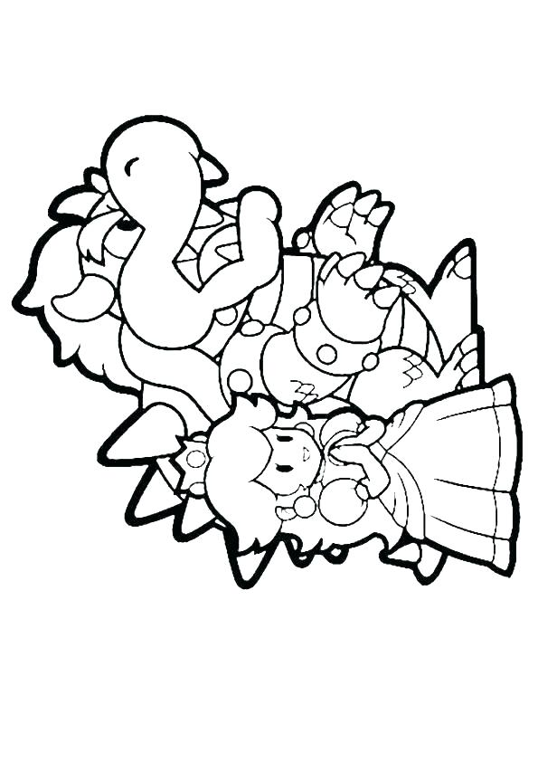 Super Mario Bros Wii Coloring Pages at GetColorings.com