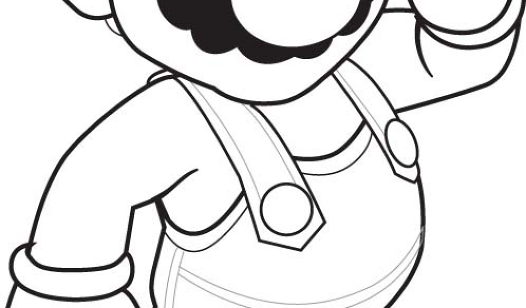 Super Mario Christmas Coloring Pages at GetColorings.com