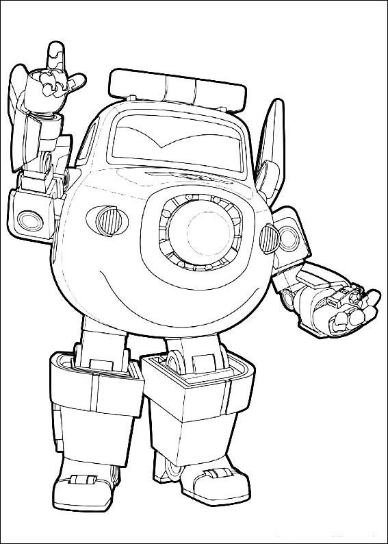 Super Wings Coloring Pages At Getcolorings Com