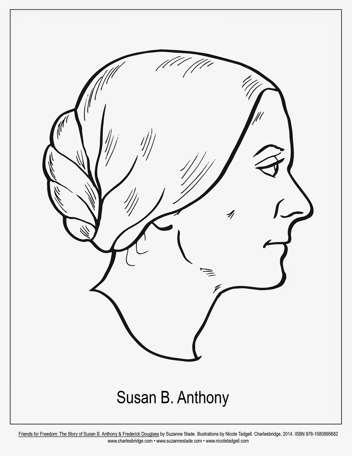 Susan B Anthony Coloring Page At Getcolorings