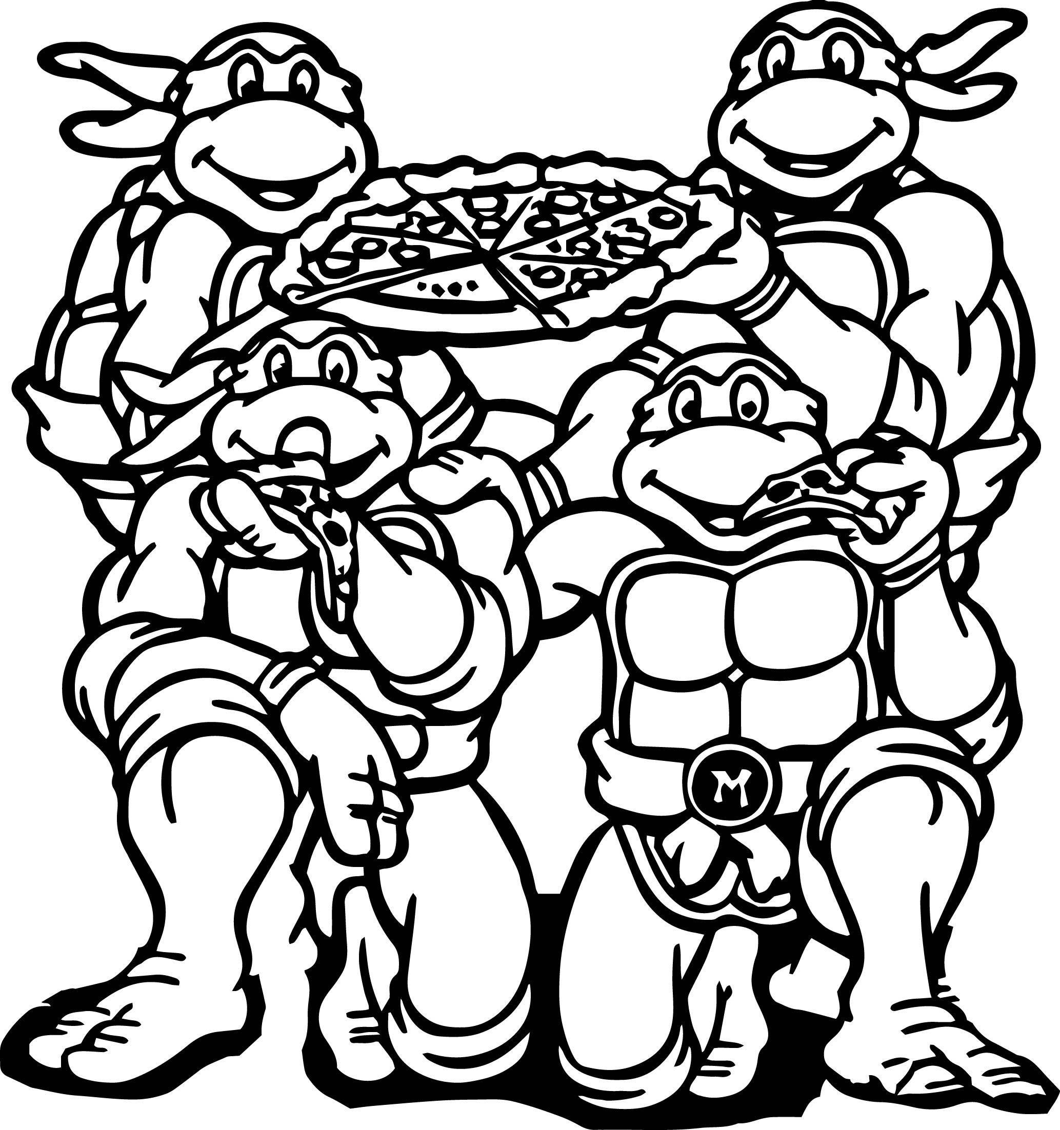 Teenage Mutant Ninja Turtles Shredder Coloring Pages At