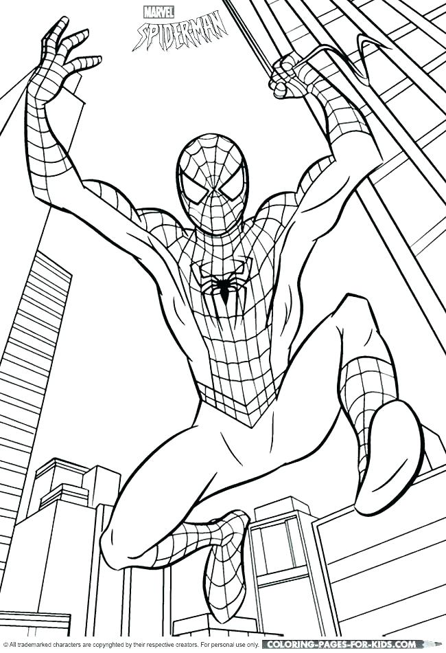The Amazing Spider Man 2 Coloring Pages at GetColorings