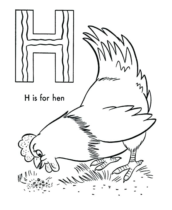 The Little Red Hen Coloring Pages at GetColorings.com