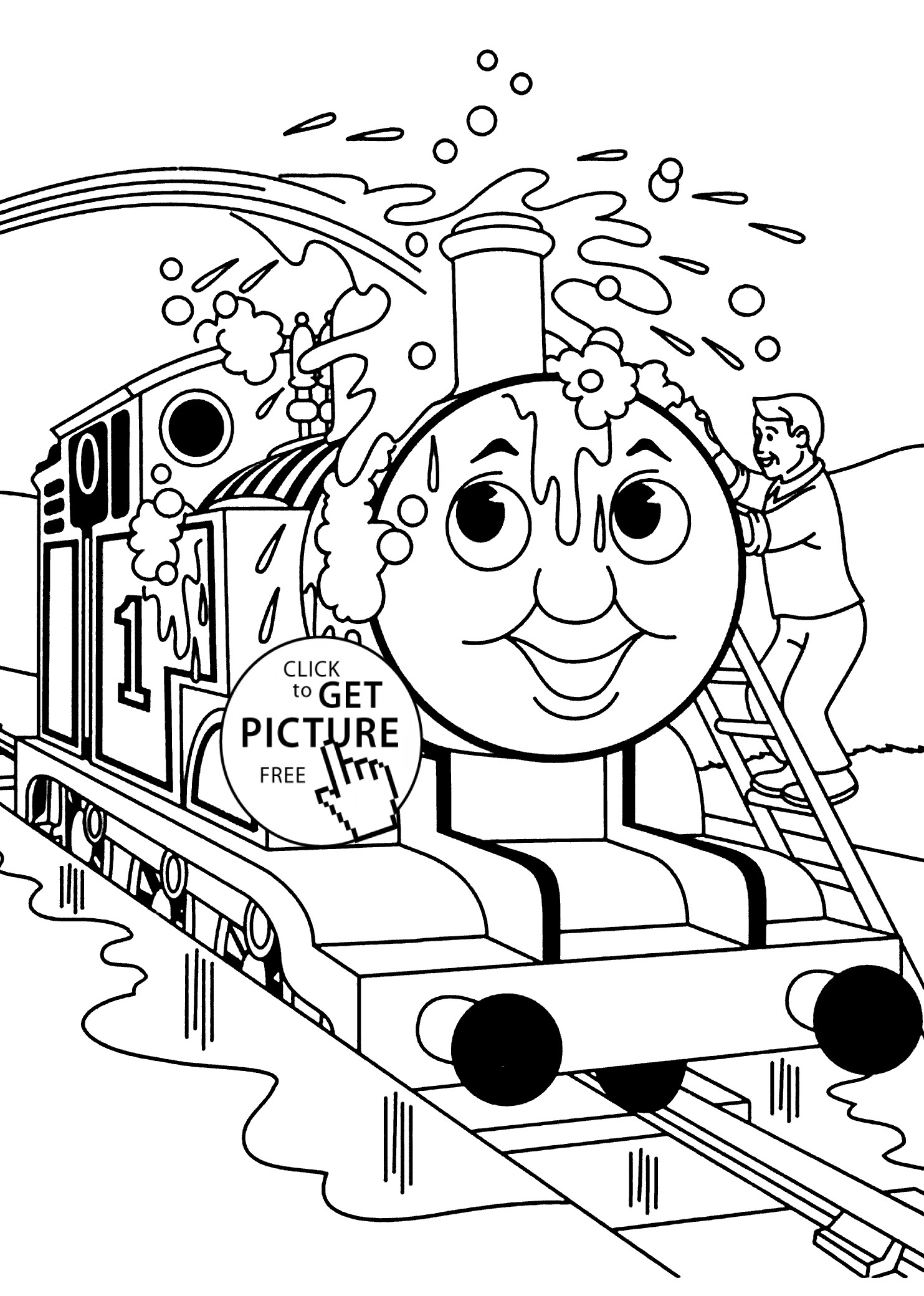 Thomas The Train And Friends Coloring Pages At