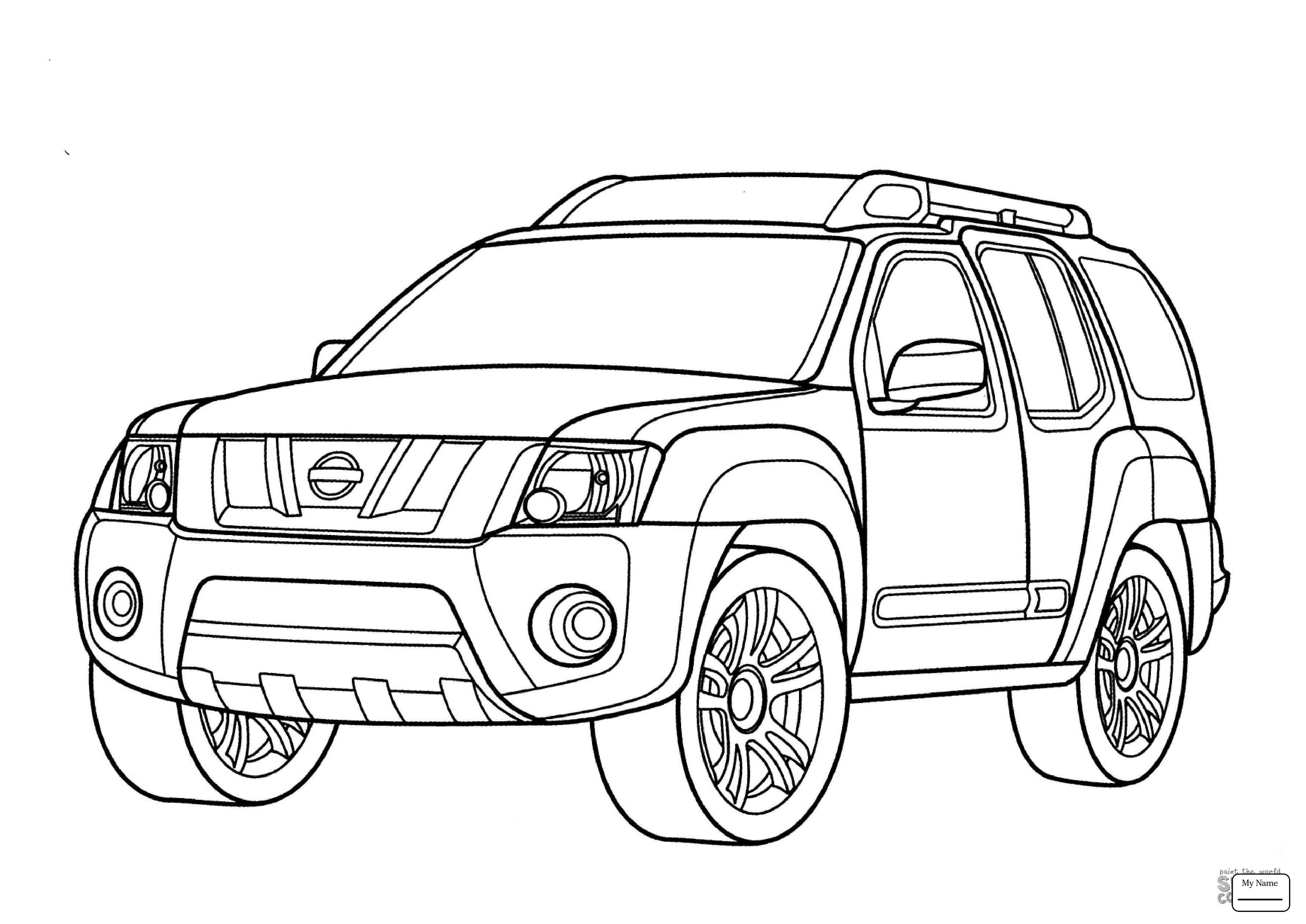 Toyota Coloring Pages At Getcolorings