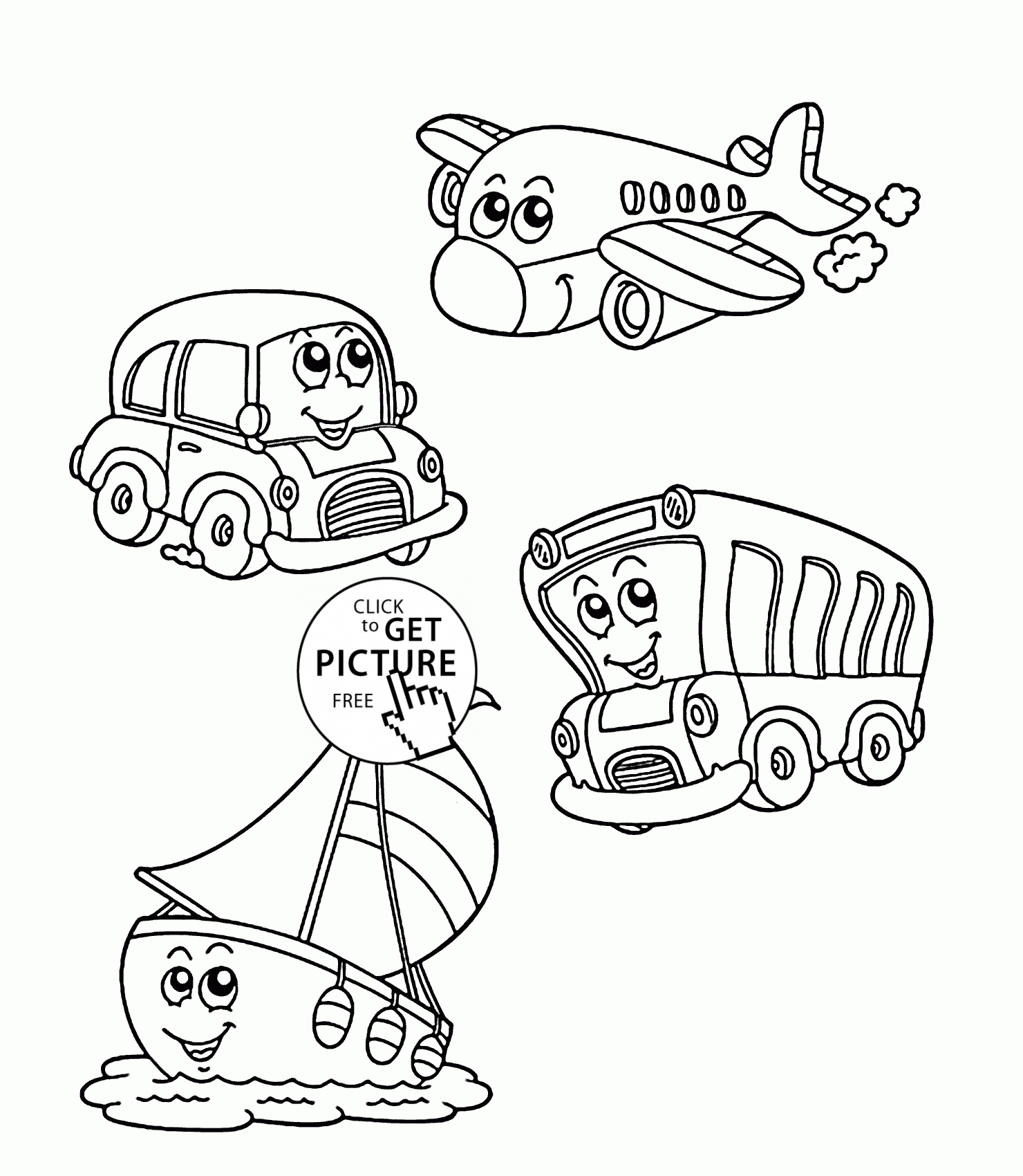 Water Transportation Coloring Pages At Getcolorings