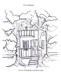coloring tree pages printable print getcolorings copies children