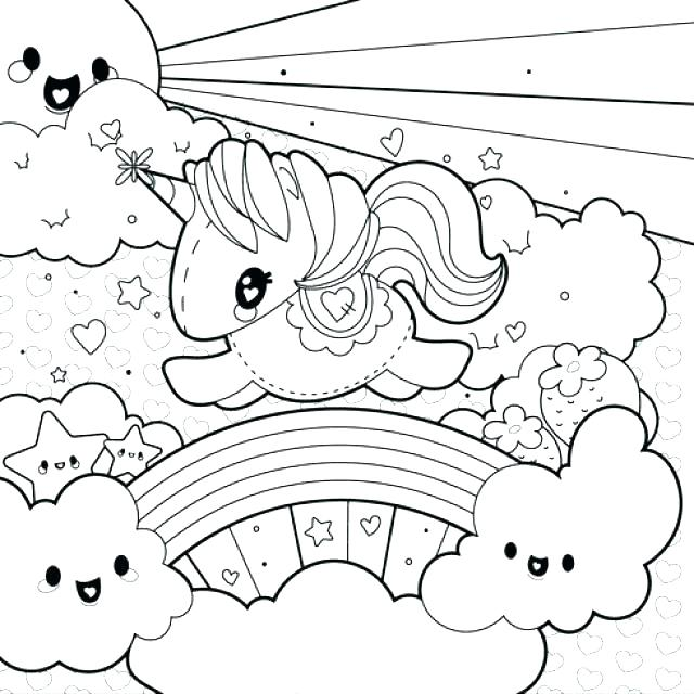 Unicorn Rainbow Coloring Pages at GetColorings.com | Free ... | free printable coloring pages unicorn rainbow