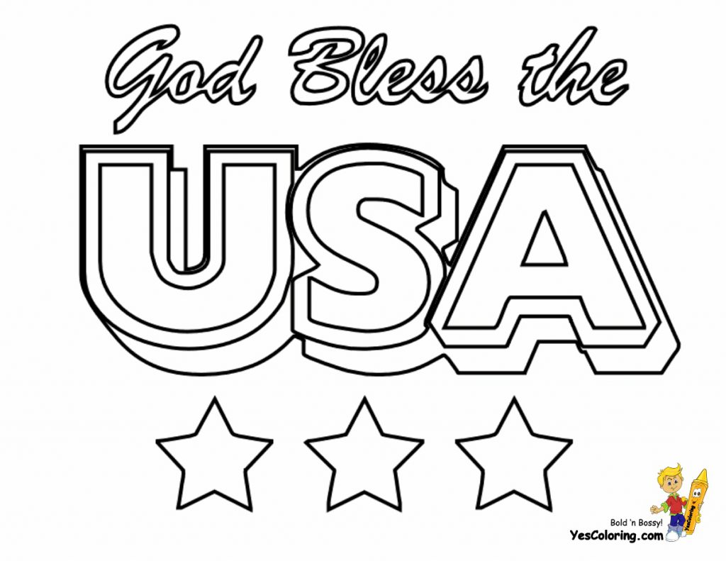 United States Coloring Pages Printable At Getcolorings