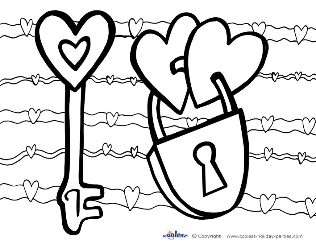 Valentines Day Coloring Pages For Sunday School At