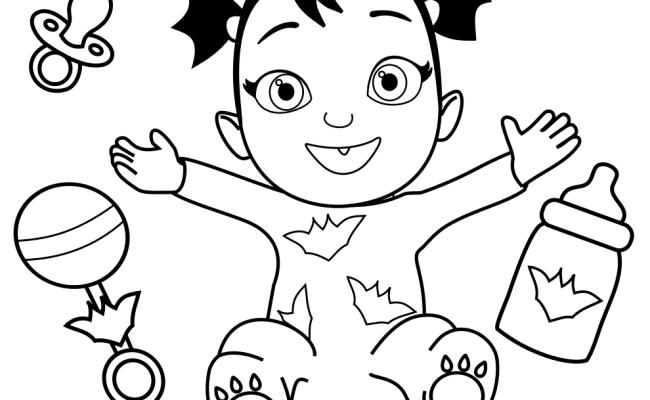 Printable Disney Junior Vampirina Coloring Pages in 2020 | Coloring pages,  Disney junior, Coloring pages for kids | 400x650