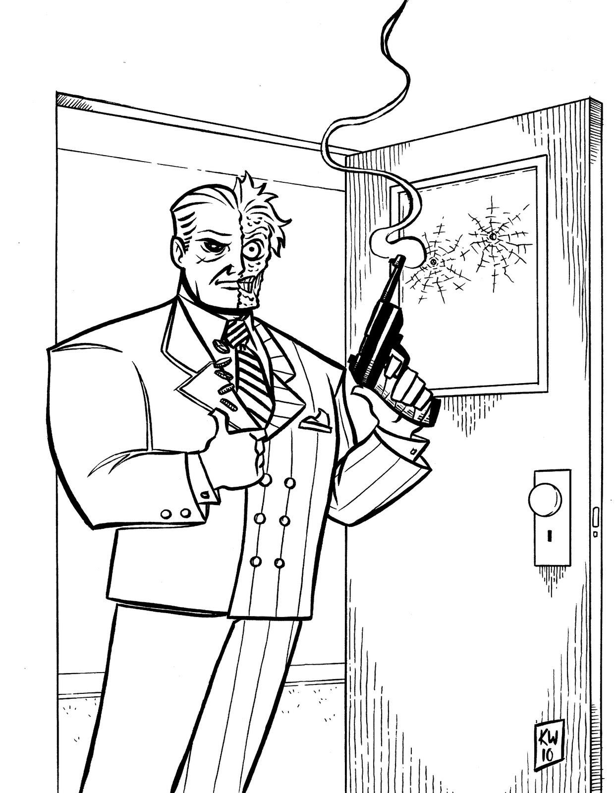 Villian Coloring Pages At Getcolorings