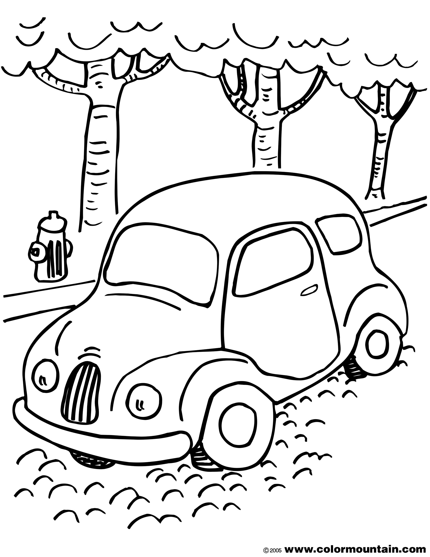 Volkswagen Coloring Pages At Getcolorings