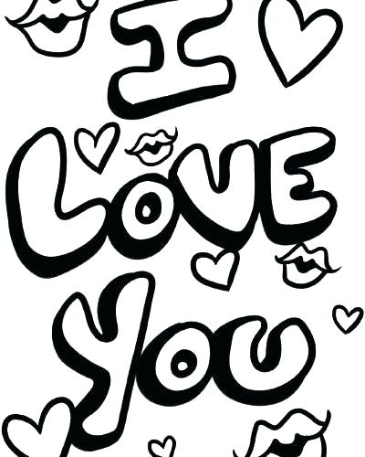 We love you coloring pages getcoloringscom free, coloring pages say i love you