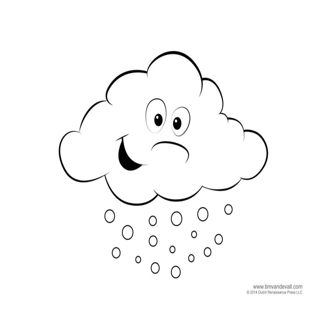 Free Weather Coloring Pages At Getcolorings