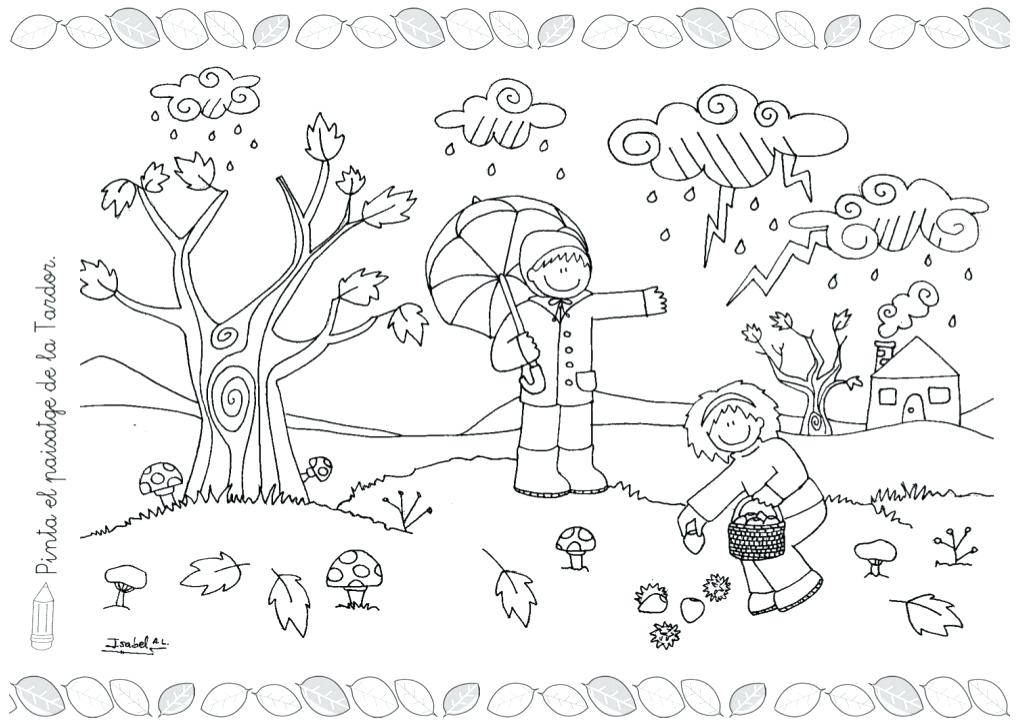 Weather Coloring Pages For Preschool at GetColorings.com
