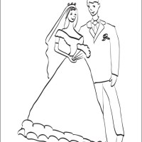 Wedding Couple Coloring Pages at GetColorings.com   Free ...