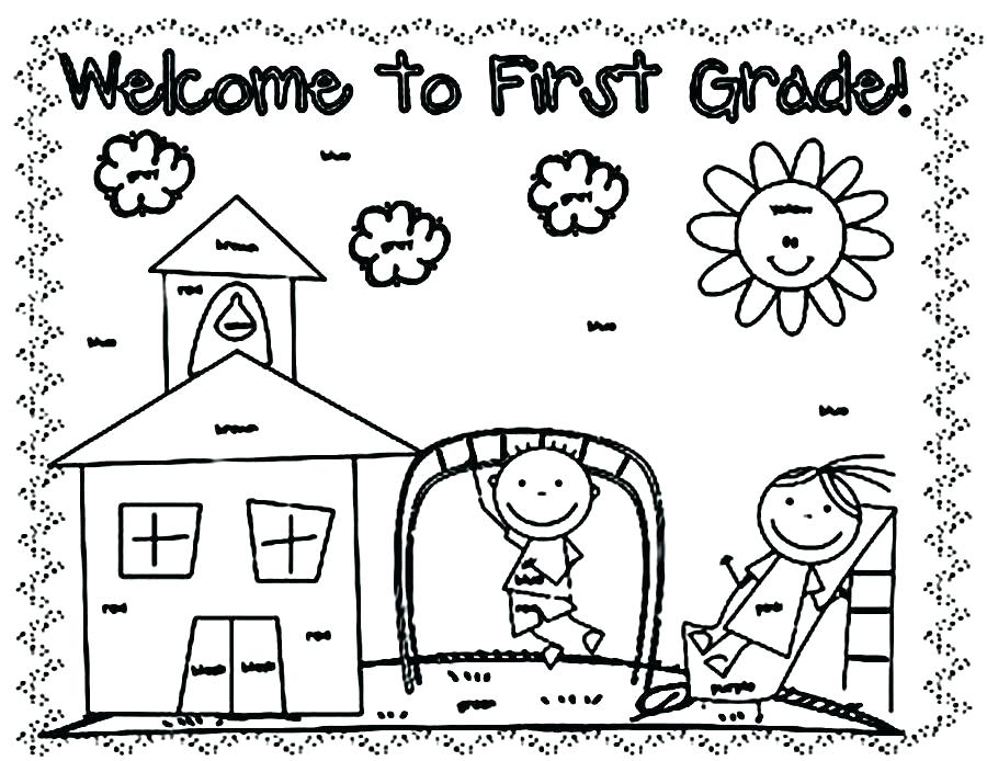 Welcome Back To School Coloring Pages at GetColorings.com