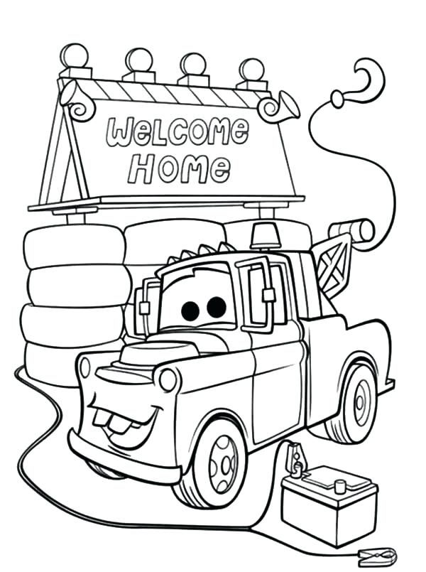 welcome home coloring page at getcolorings  free