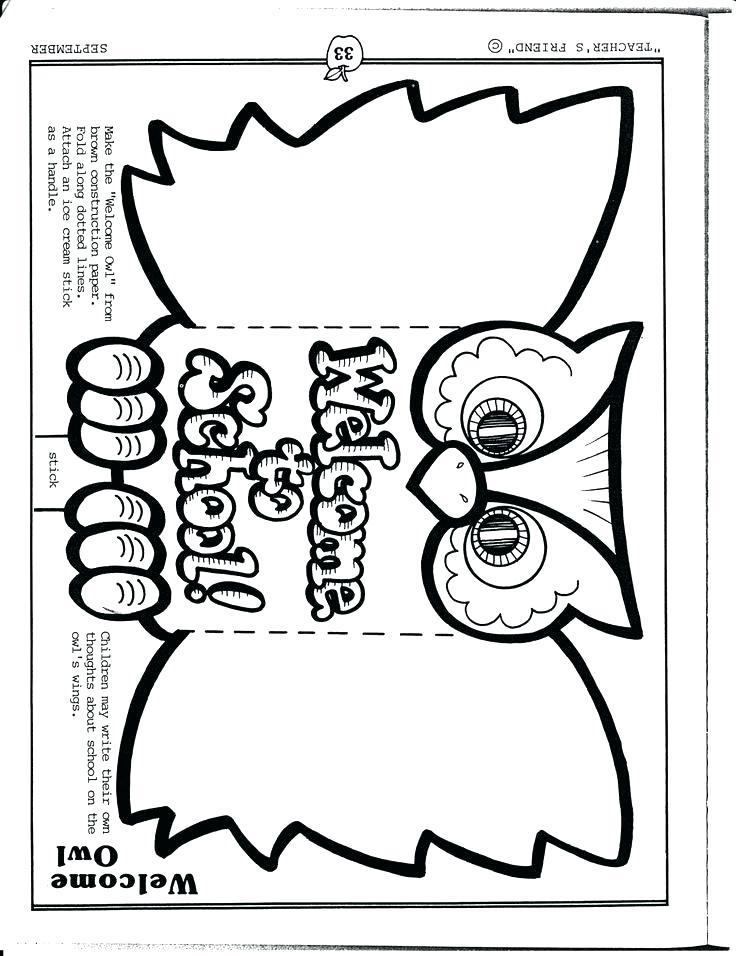 Welcome To Preschool Coloring Pages at GetColorings.com