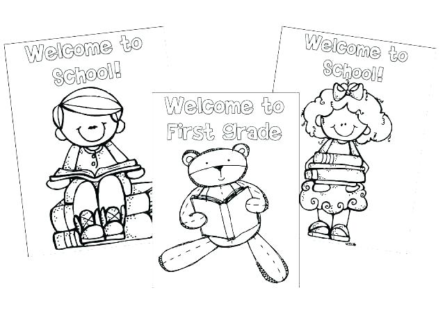 Welcome To Second Grade Coloring Pages at GetColorings.com