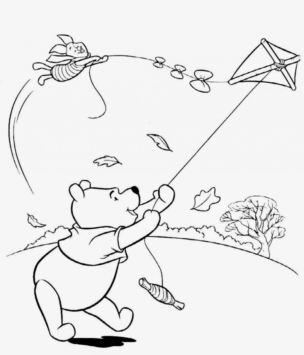 Windy Day Coloring Pages At Getcolorings