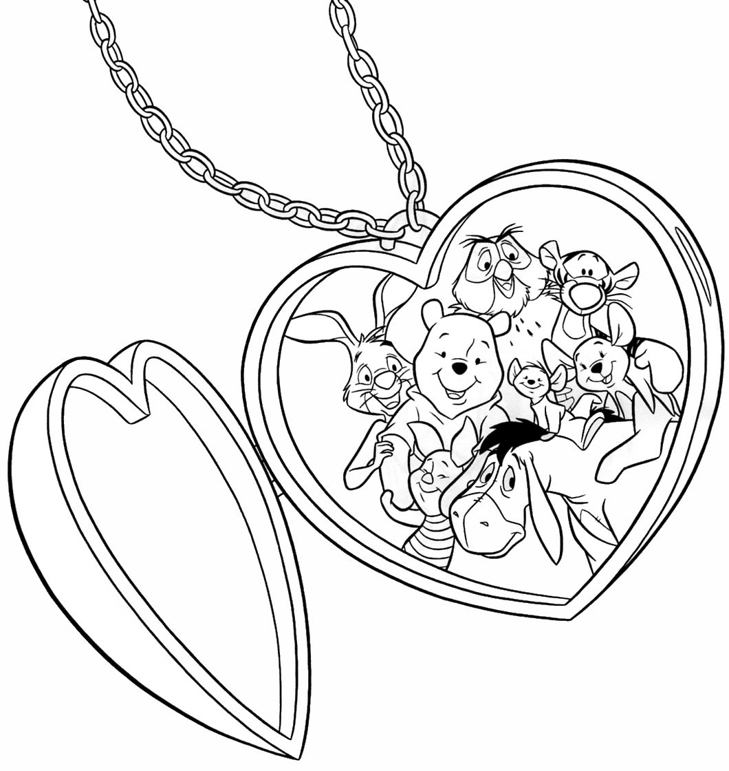 Winnie The Pooh And Tigger Coloring Pages at GetColorings