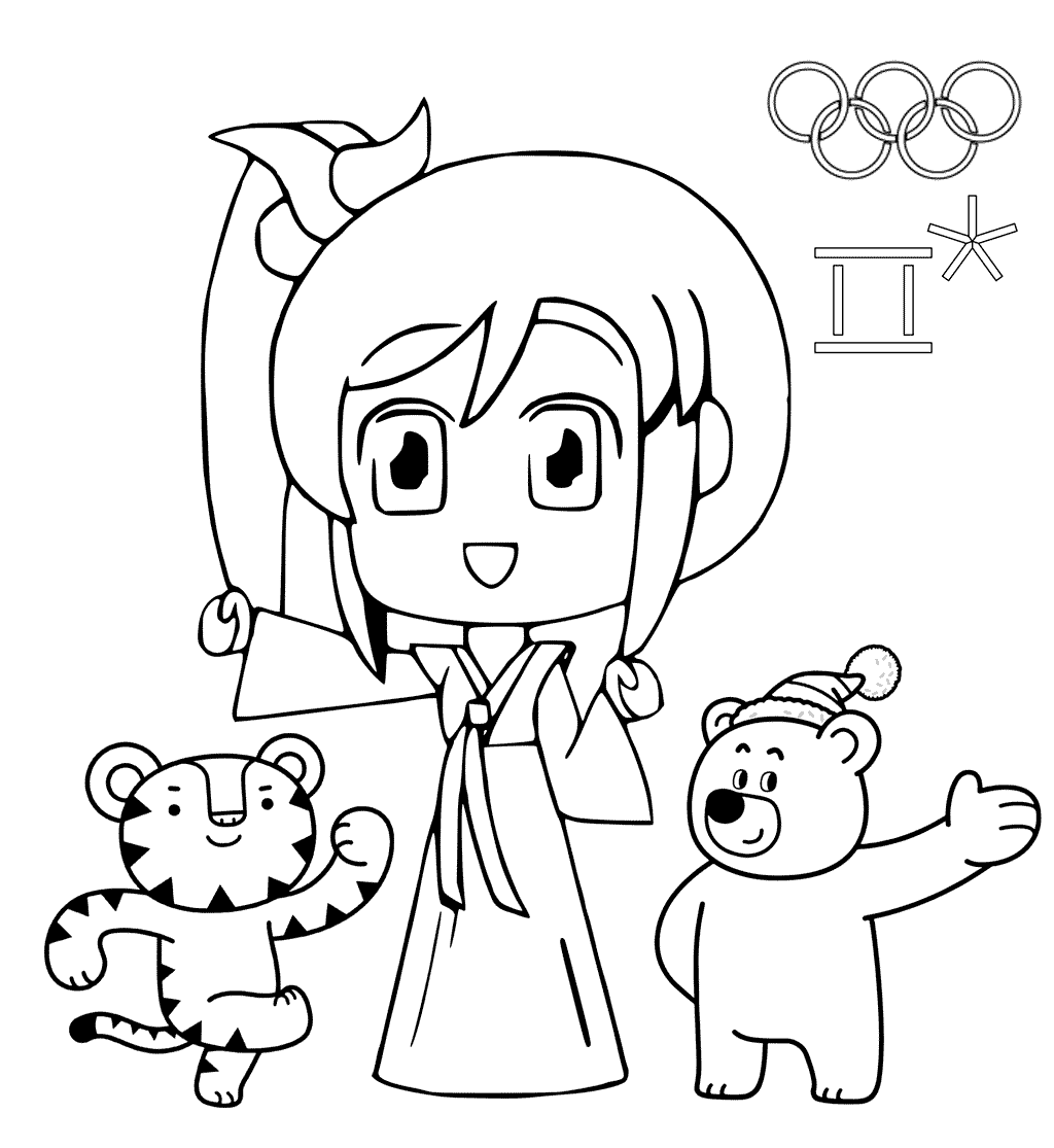 Winter Olympics Coloring Pages At Getcolorings