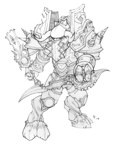 World Of Warcraft Coloring Pages Printable at GetColorings
