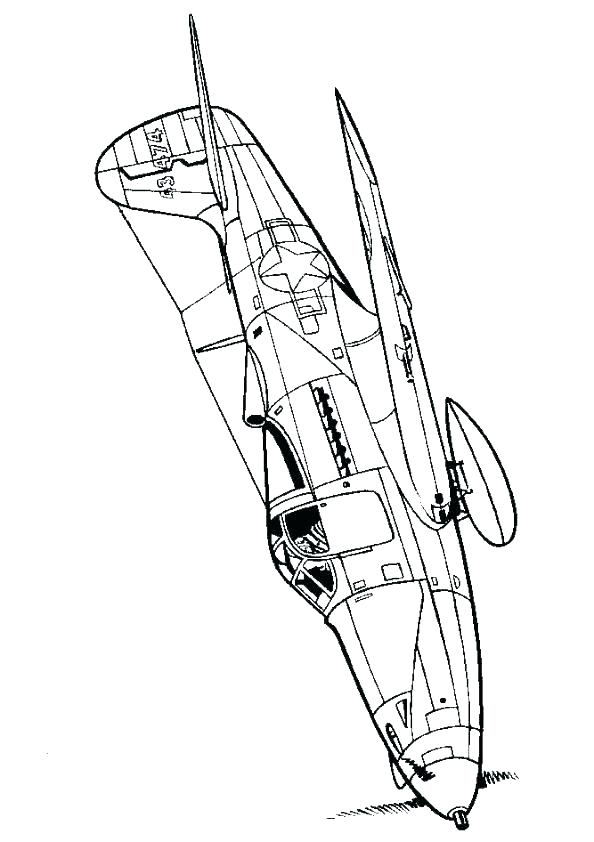 World War 2 Planes Coloring Pages at GetColorings.com