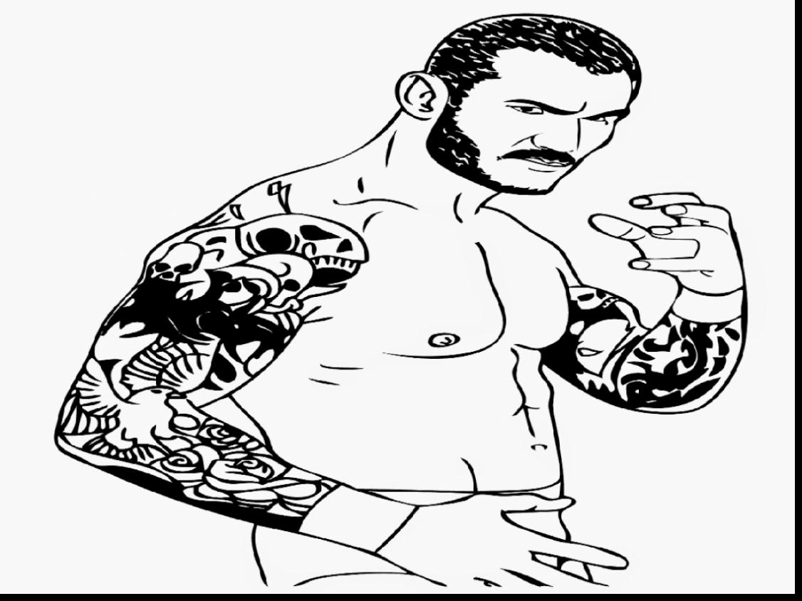 Wwe Wrestling Coloring Pages At Getcolorings