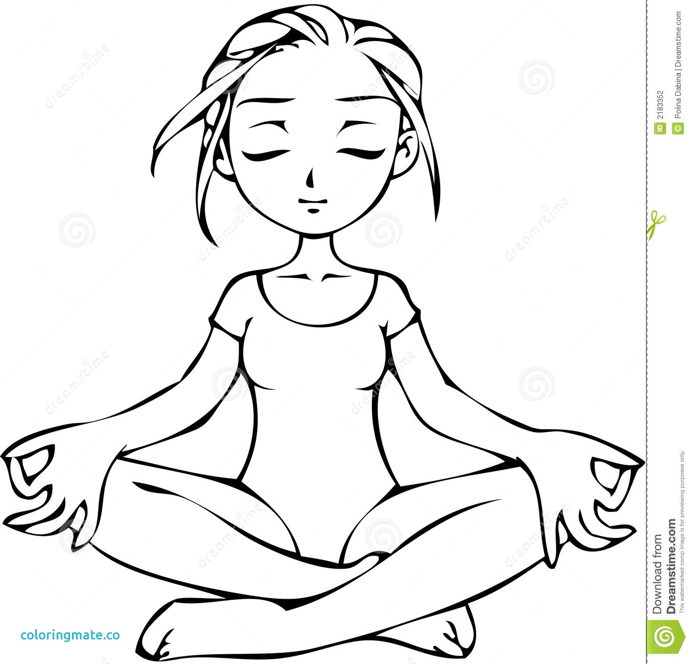 Yoga Coloring Pages At Getcolorings