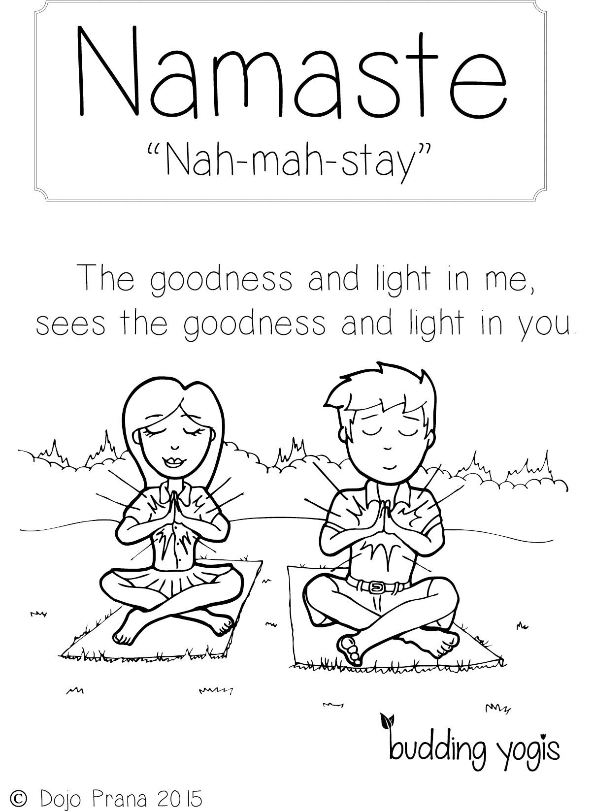 Free Printable Yoga Coloring Pages For Kids Novocom Top