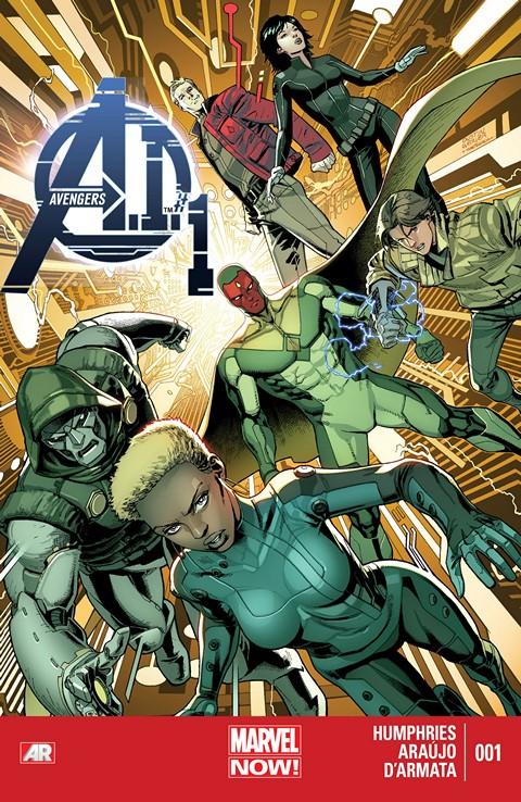 Avengers A.I #1 – 12 + TPBs (2013-2014)