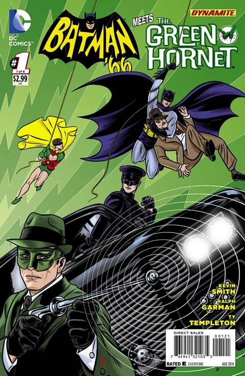 Batman '66 Meets The Green Hornet 001-006 Free Download
