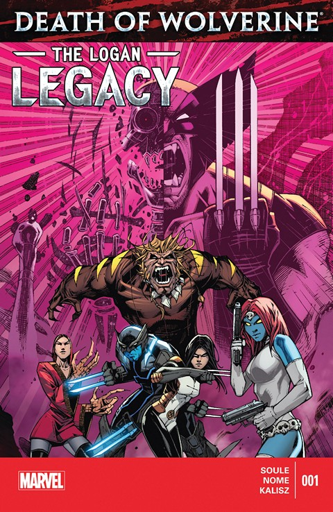 Death of Wolverine – Logan Legacy 001 – 007 Free Download
