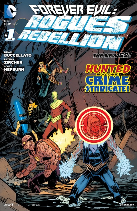 Forever Evil Rogues Rebellion 001-006 Free Download