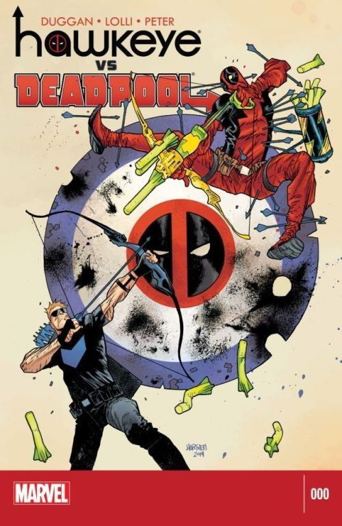 Hawkeye vs Deadpool #0 – 4 + TPB (2014-2015)