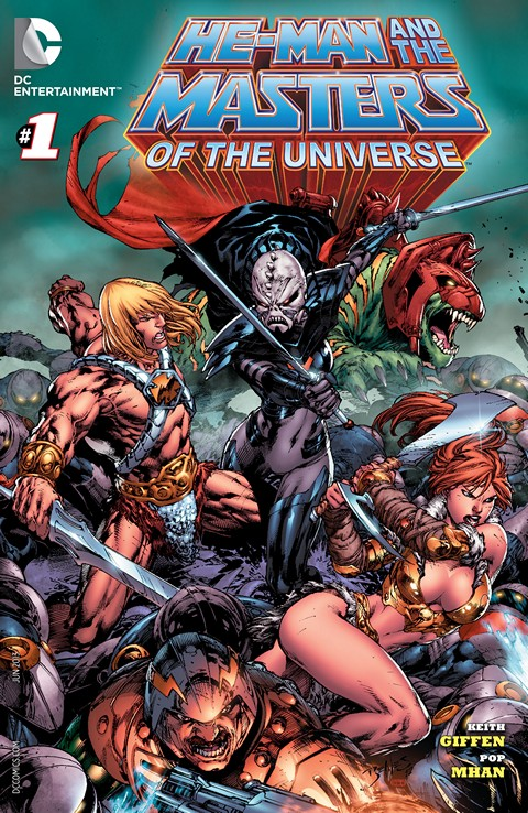 He-Man and the Masters of the Universe #1 – 19 (2013-2015)
