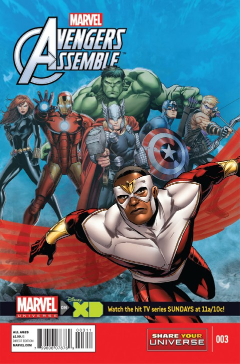 Marvel Universe Avengers Assemble 001 – 004 Free Download