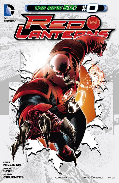 Red Lanterns 000 – 037 Plus Annual Free Download
