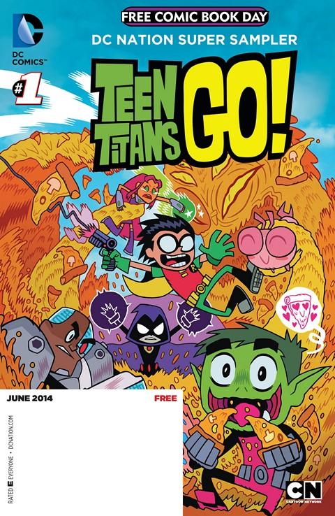 Teen Titans Go! 001-014 Free Download