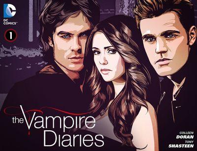 The Vampire Diaries #1 – 39 (2013-2014)