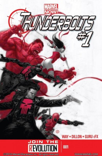 Thunderbolts Vol. 2 #1 – 32 + TPB Vol. 1 – 5 (2013-2014)