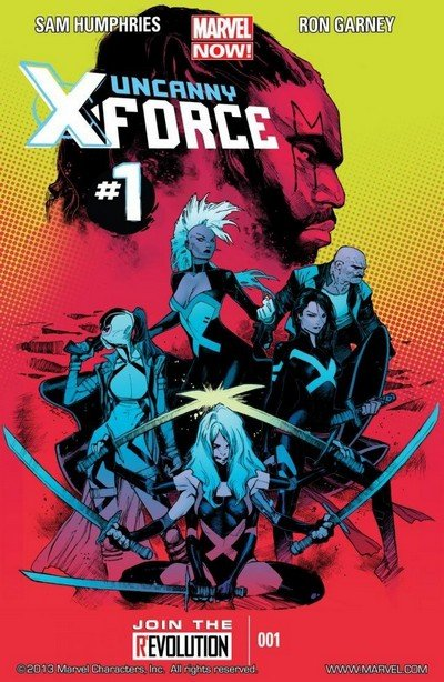 Uncanny X-Force Vol. 2 #1 – 17 (2013-2014)