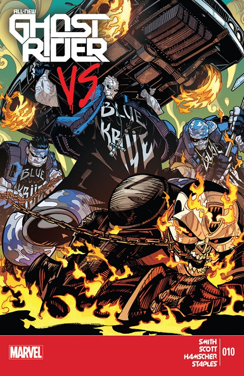 All-New Ghost Rider #001-010 Free Download
