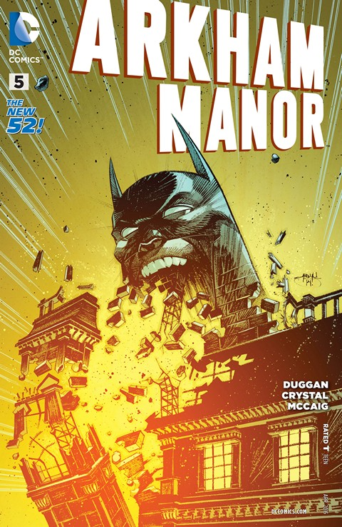 Arkham Manor #5 Free Download