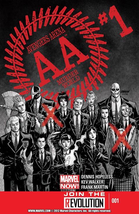 Avengers Arena #1 – 18 + TPB Vol. 1 – 3 (2012-2014)